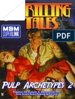 Mutants & Masterminds - 2nd Edition - Adamant Entertainment - Sourcebook - Thrilling Tales - Pulp Archetypes 2.pdf