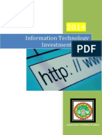 Final IT Investment Policy 2014 - 07 10 14