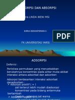 Adsorpsi & Absorbsi