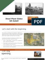 Steel Plant Steel SA Galati
