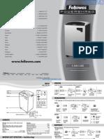 Fellowes Powershred C-320C Commercial Paper Shredder - 38325