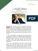 140831_Los «Estados Fallidos», Por Manlio Dinucci