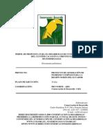 Perfil de Propuesta Para El Desarrollo de Un Estudio Rapido Del Cluster de Cacao Provincia de Esmeraldas