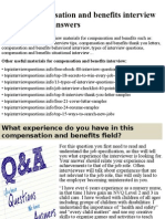 Top 10 compensation and benefits interview questions and answers.pptx
