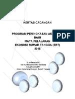 Program Peningkatan Bagi Mata Pelajaran Ekonomi Rumah Tangga