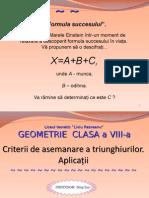 Criterii de Asemanarea_triunghiurilor