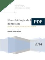 Neurobiología Depresión - deDiegoAdeliño 2014