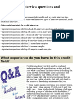 Top 10 credit interview questions and answers.pptx