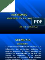 Neumonia adquirida en lacomunidad