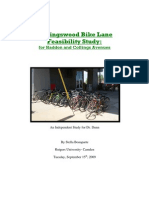Collingswood Bike Lane Study