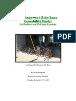 Collingswood Bike Lane Study