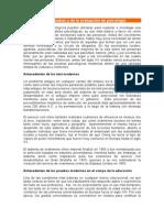Historia de-las Pruebas y La Evaevaluacion de pruebasluacion Psicologicas ( MEDICION Y EVALUACION 3 SEMESTRE)