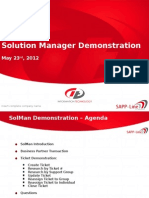 CR SolMan Demonstration - Core Team
