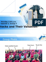 Tut 6 Stocks and Their Valuation 2