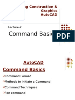 AutoCAD Commands Basics