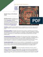 Mandala Technical Glossery