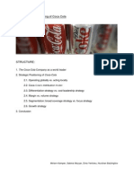 Business Strategy Coca Cola