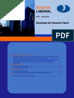 Boletin Laboral SOFOFA 61 2012