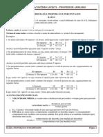 Razao- Proporcao e Porcentagem - Resumo