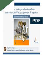 SolidWorks - Ddiseño Avanzado Sólidos (Parte 1)