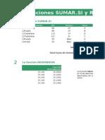 Las funciones SUMAR.SI y REDONDEAR.xlsx