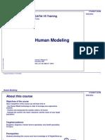 Catia v5_Human Modeling