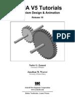 CATIA V5 Tutorials_Mechanism Design & Animation