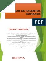Gestion de Talentos Humano Gestion de talentos humanos