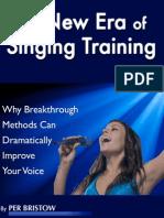 New Era of Singing Training 2014