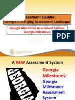 Introducing Georgia Milestones June 2014