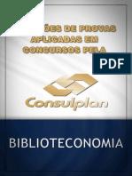 QUESTÕES BIBLIOTECONOMIA