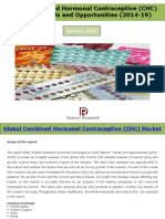 Global Combined Hormonal Contraceptives (CHC) Market