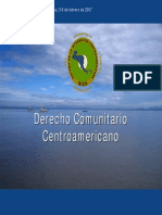 Derecho Comunitario Centroamericano