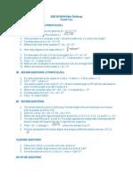 2010 DIVISION Math Challenge (2)