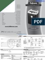 Fellowes Powershred PS-60 Paper Shredder - 3860102