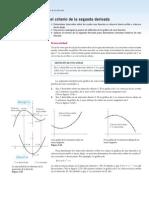 Concavidad y criterio de la segunda derivada