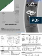 Fellowes Powershred PS-67Cs Paper Shredder - 3216701