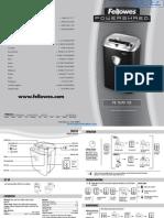 Fellowes Powershred PS-70 Paper Shredder - 3217002