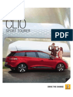 Clio Sport Tourer Catalogo