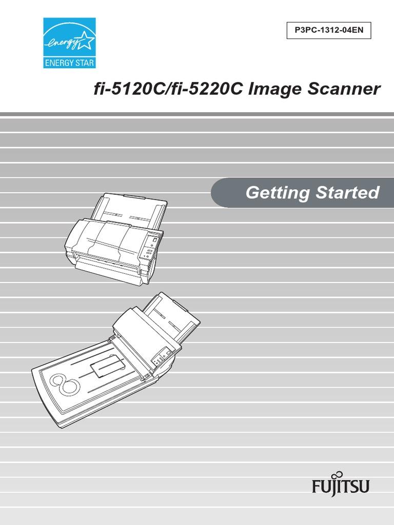 fujitsu scanner manuals