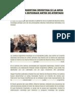 Justicia Argentina Investiga Si La Amia Fue Víctima Espionaje Antes de Atentado