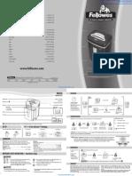 Fellowes MicroShred MS-450Cs Paper Shredder - 3245001