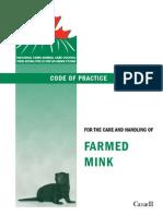 Mink Code of Practice