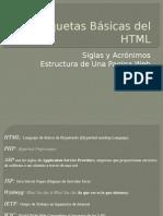 Etiquetas Básicas Del HTML