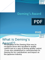 Dr demings award.ppt