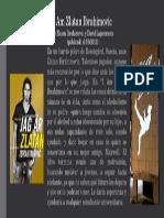 Presentación Libro I Am Zlatan