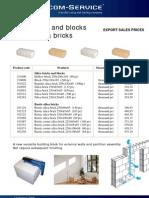 Brick and Blocs