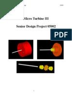 Micro Turbine III PDR