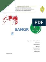 Informe de SANGRE.