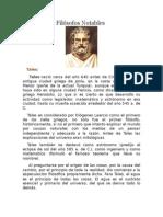 Biografía de Filósofos Notables